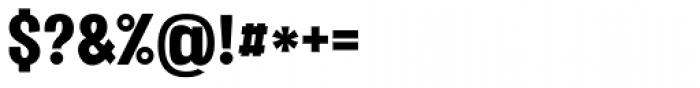 Vacer Sans Black Font OTHER CHARS