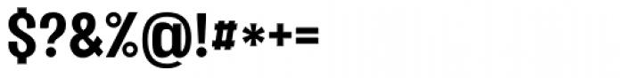 Vacer Sans Bold Font OTHER CHARS