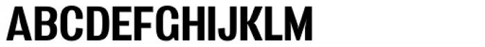 Vacer Sans Bold Font UPPERCASE