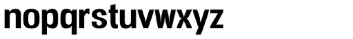 Vacer Sans Bold Font LOWERCASE