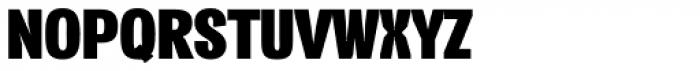 Vacer Sans Fat Font UPPERCASE