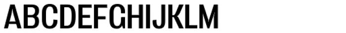 Vacer Sans Regular Font UPPERCASE