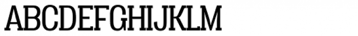 Vacer Serif Book Font UPPERCASE