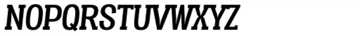 Vacer Serif Italic Font UPPERCASE