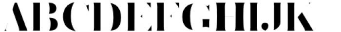 Vacui Regular Font UPPERCASE
