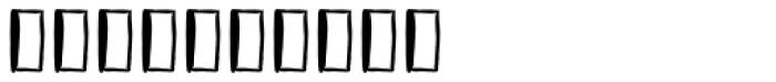 Vagabundo Banners Font OTHER CHARS