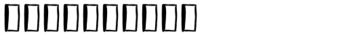 Vagabundo Elements Font OTHER CHARS