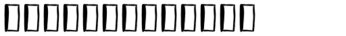 Vagabundo Elements Font LOWERCASE