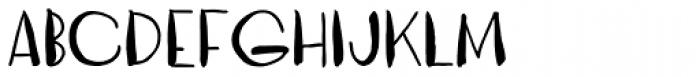 Vagabundo Medium Font LOWERCASE