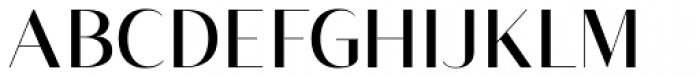 Vage Light Font UPPERCASE