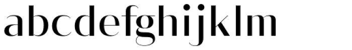 Vage Light Font LOWERCASE