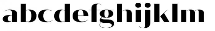 Vage Semibold Font LOWERCASE