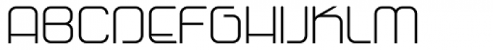 Vagebond N Light Roman Font UPPERCASE