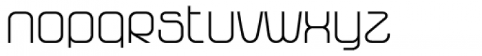 Vagebond N Light Roman Font LOWERCASE