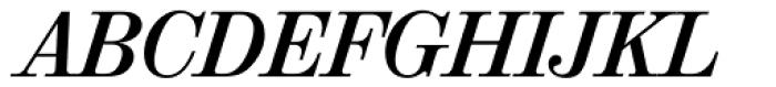 Valencia Serial Bold Italic Font UPPERCASE