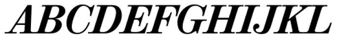 Valencia Serial ExtraBold Italic Font UPPERCASE