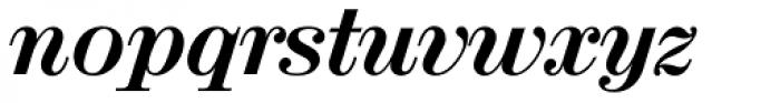 Valencia Serial ExtraBold Italic Font LOWERCASE