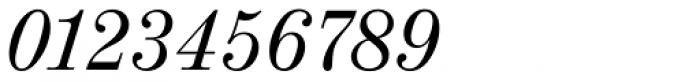 Valencia Serial Italic Font OTHER CHARS