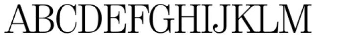 Valencia Serial Light Font UPPERCASE
