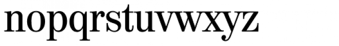 Valencia Serial Medium Font LOWERCASE