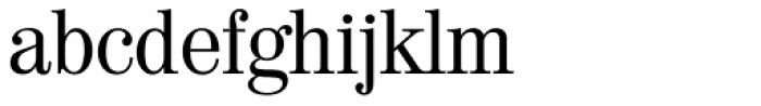 Valencia Serial Font LOWERCASE