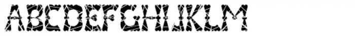 Valenteena Broken Font LOWERCASE