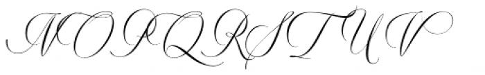 Valentia Condensed Font UPPERCASE