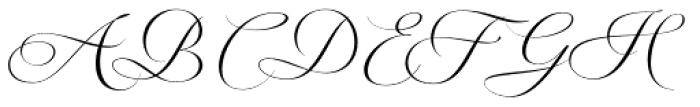 Valentia Font UPPERCASE
