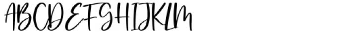Valerina Regular Font UPPERCASE