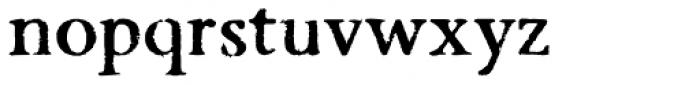 Valfieris Aged Bold Font LOWERCASE