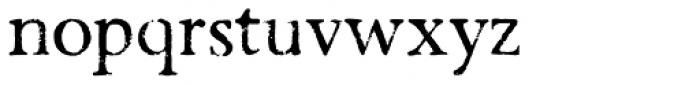 Valfieris Aged Font LOWERCASE