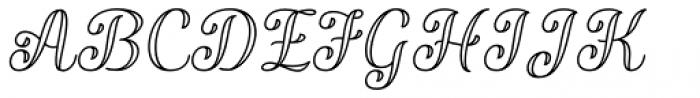 Validity Script Regular Italic Font UPPERCASE