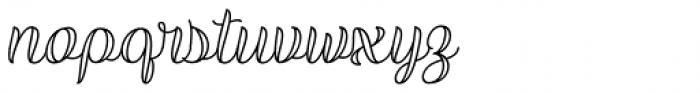 Validity Script Regular Italic Font LOWERCASE