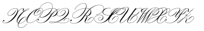 Valliciergo Font UPPERCASE