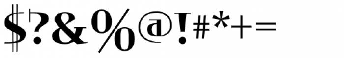 Valor Font OTHER CHARS