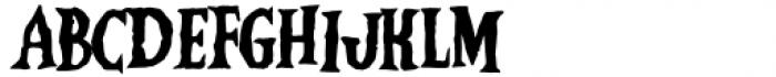Vampliers Regular Font UPPERCASE
