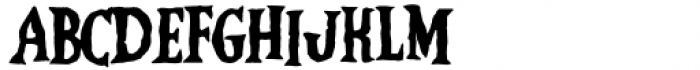 Vampliers Regular Font LOWERCASE