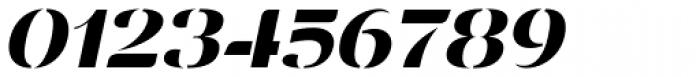 Vanage Semi Bold Italic Font OTHER CHARS