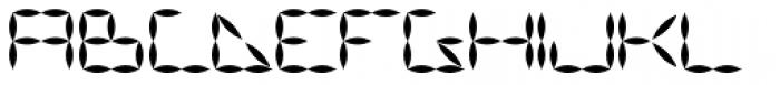 Vanguard III AOE Bold Font UPPERCASE