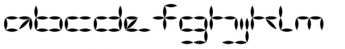 Vanguard III AOE Bold Font LOWERCASE