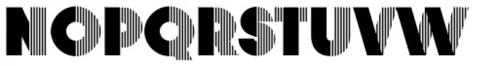 Vanilla Font UPPERCASE