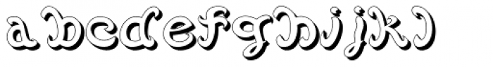 Vannucci Antico Inciso Font LOWERCASE