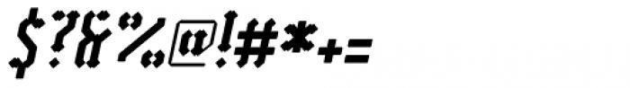 Vantagram Rounded Italic Font OTHER CHARS