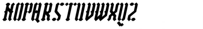 Vantagram Rounded Italic Font UPPERCASE