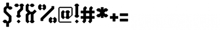 Vantagram Rounded Font OTHER CHARS