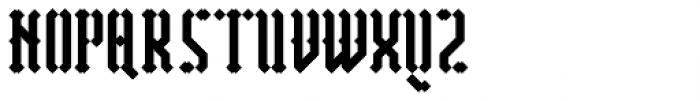 Vantagram Rounded Font UPPERCASE
