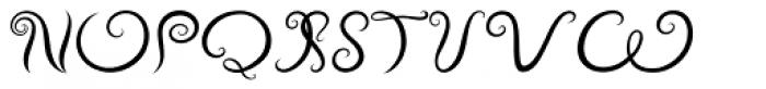 Vapor Light Font UPPERCASE