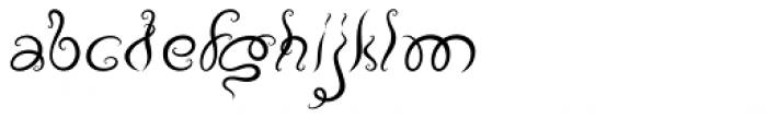 Vapor Light Font LOWERCASE