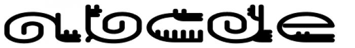 Varbur Bold Font UPPERCASE