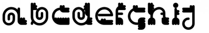 Varbur Bold Font LOWERCASE